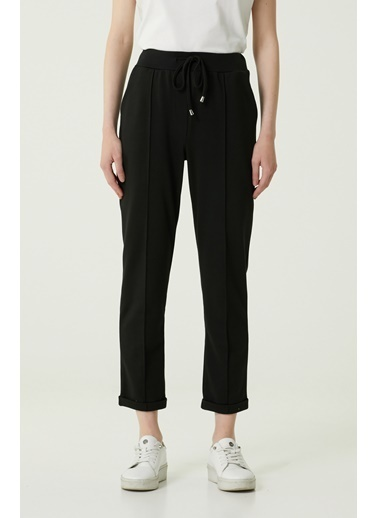 NetWork 1079943 Kadın Basic Fit Pantolon Siyah
